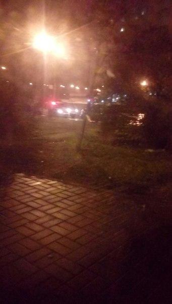 Сбили человека в городе Сестрорецке,