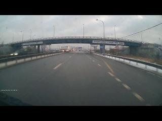 Видео сегодняшнего ДТП под кольцевой, Мурманское шоссе.