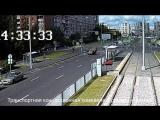 Публикуем видео ДТП с переворотом на проспекте Наставников
