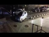 В Кудрово на Европейском 21/3,девушка подбила 3 автомобиля