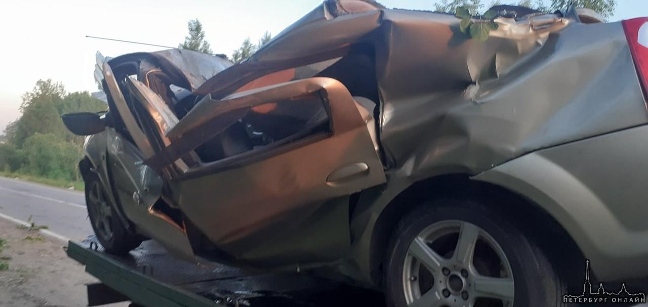 Куйвози.. Там недавно была жуткая авария уже.. На том же месте В 15:00 на 31 км автодороги Санкт-Пе...